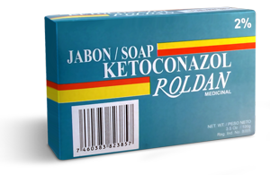 Jabón Ketoconazol Roldan medicinal