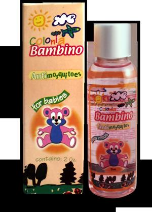 Colonia Bambino Antimosquitos