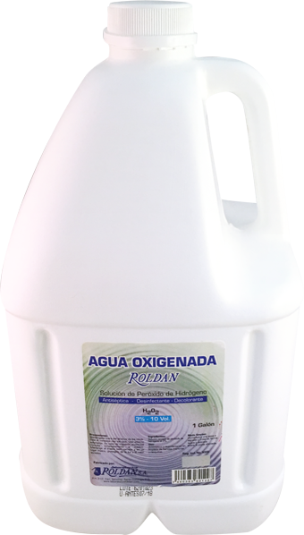 Agua Oxigenada vol. 10