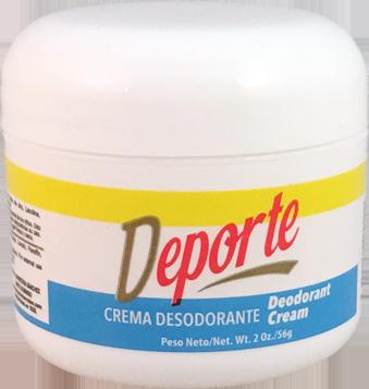 Crema Desodorante Deporte Con Fragancia
